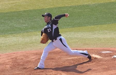 タイガース先発の岩田投手