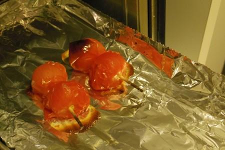 オーブンで焼いていただきました(2014/6/8)