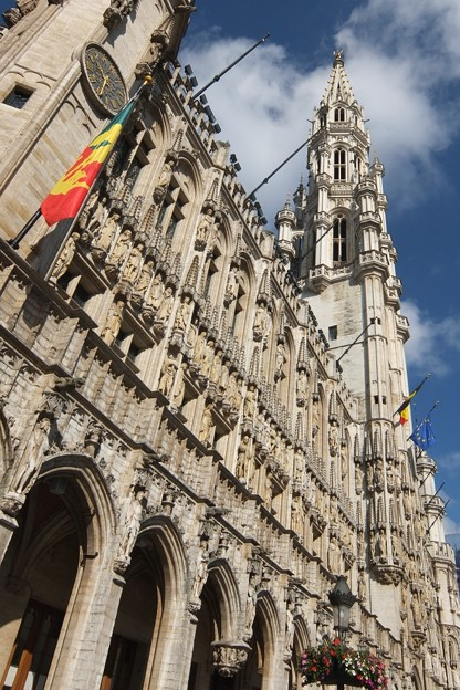 写真: ブリュッセル市庁舎