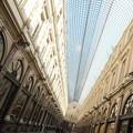 写真: ヨーロッパ最古のアーケード Galeries St-Hubert