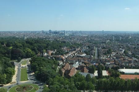アトミウム展望台から見た景色