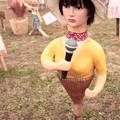 Photos: 里美のマネキンかかし アイドルタイプ