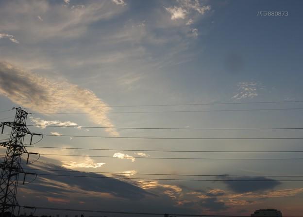 今は日没が北寄り