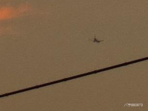 飛行機小さいのでアップ(2)