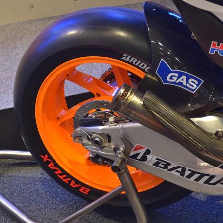 MotoGP ホンダのセンサー