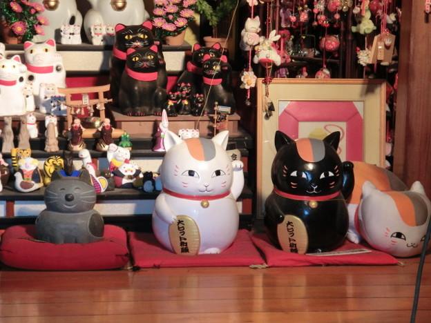 Photos: 夏目友人帳のニャンコ先生とリオウ様