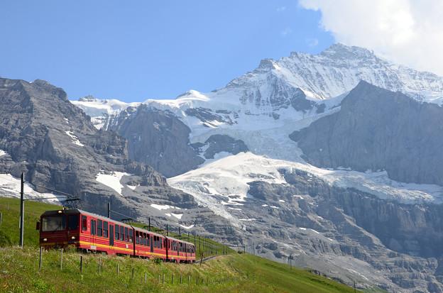 07.Jungfrau railway and Jungfrau