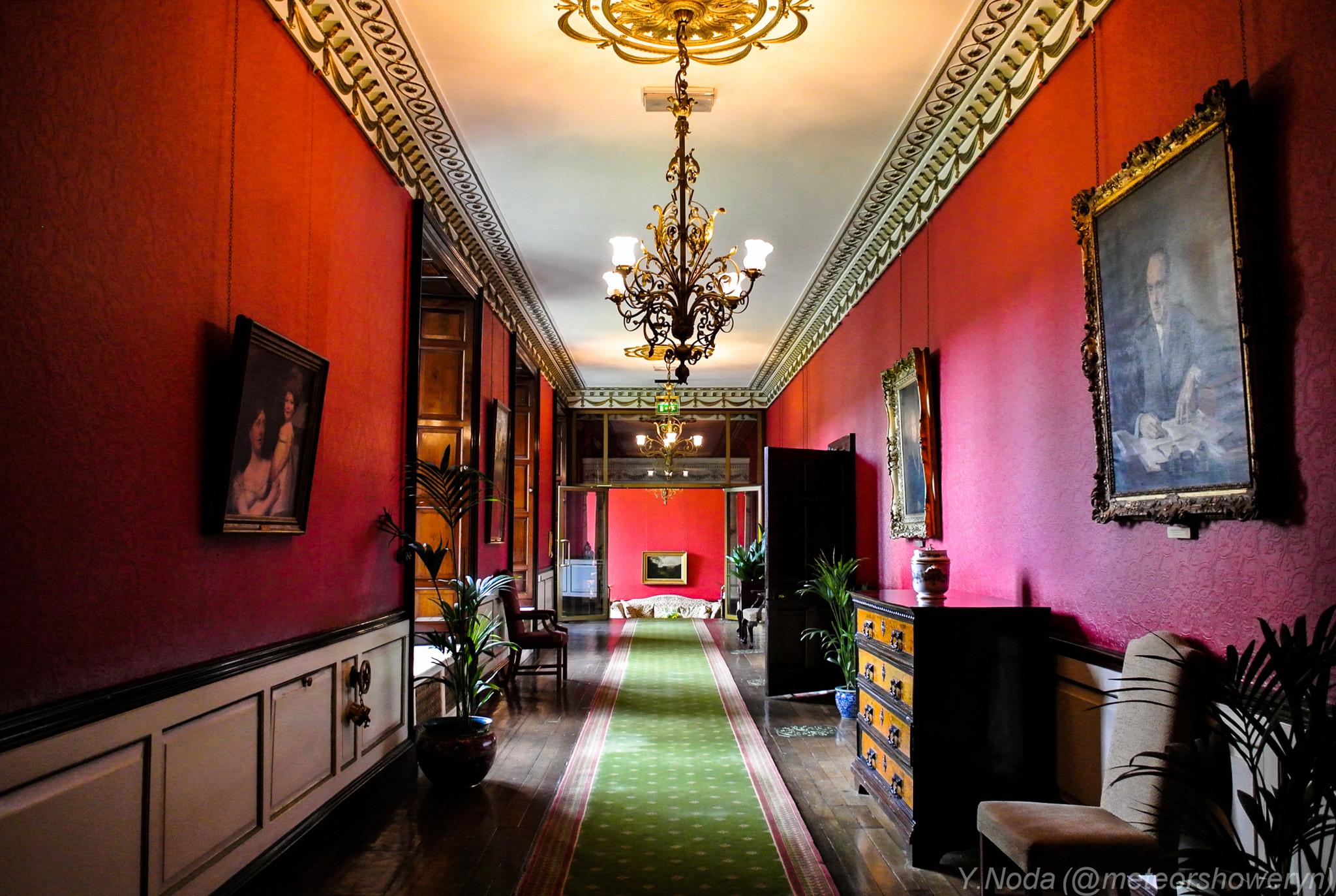06.Corridor -Swinton Park Hotel-
