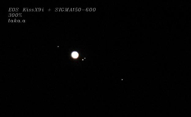 EOS Kiss X9i + SIGMA150-600 AF 木星