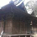 Photos: 田浦神明社の拝殿と本殿
