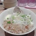 Photos: 最後に食べた汁無し(麺半分卵抜き)。ありがとうモトミヤ!