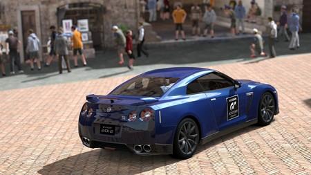 日産 GT-R ブラックエディション (GTアカデミー バージョン) '12r