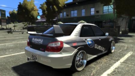 Subaru WRC 2008 リア