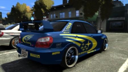 Subaru WRC 2005 リア