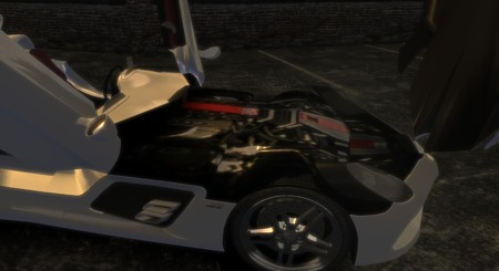 2010 Mercedes Benz McLaren SLR Stirling Moss