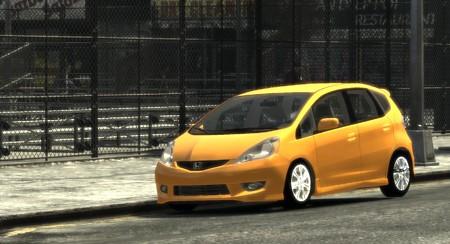 GTAIV Honda Fit3