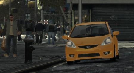 GTAIV Honda Fit