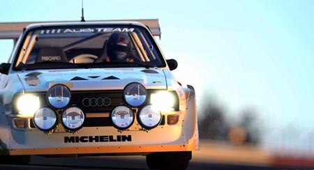 アウディスポーツ クアトロ S1 ラリーカー'86