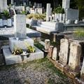 写真: 「坂の上の雲」の秋山好古陸軍大将のお墓は道後温泉にある