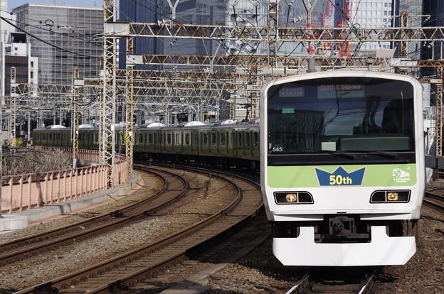 みどりの山手線 E231系500番台