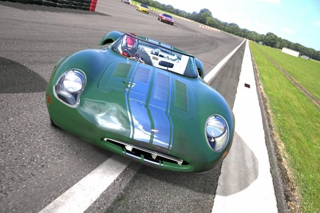 ジャガー XJ13 レースカー クロムライン - 写真共有サイト「フォト蔵」